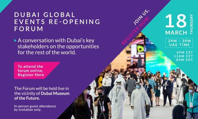 Dubai Global Events Re-opening Forum